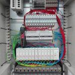 Zestaw przyłączeniowy WLAN - wieżowy - rozdzielnia prądu i światłowodu